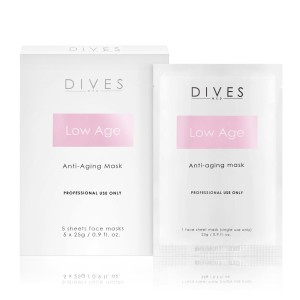 DIVES MED - Low Age Mask - maska Anti-Age 5x25g
