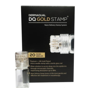 DERMAQUAL- DQ Gold Stamp - 20 micro needles