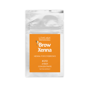 BH Brow Henna – Amber Concentrate  saszetka 6g.