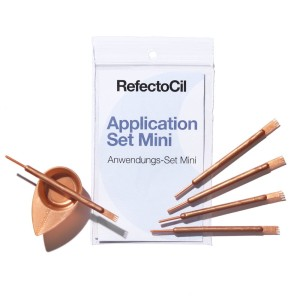 RefectoCil Application Set Mini Rose Gold – Mini zestaw do aplikacji henny 5+5